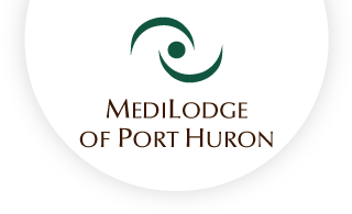 Medilodge of port huron web logo